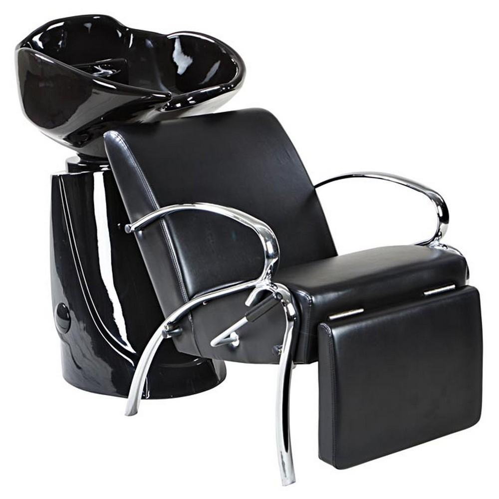 Streamline beauty salon shampoo black sink bowl unit ebay for Salon shampoo chairs
