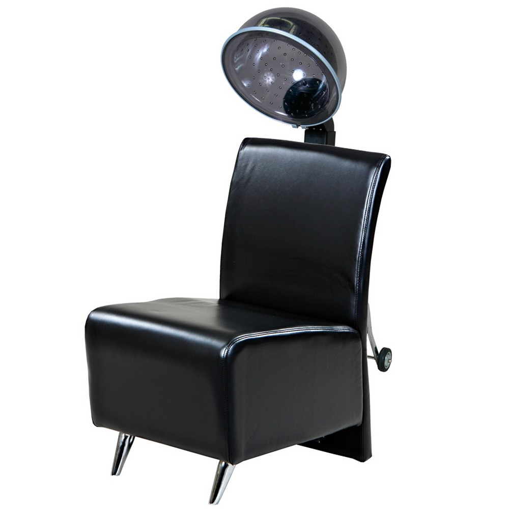 New salon couture black dryer chair with box dryer package wc 03p - Salon chair with hair dryer ...