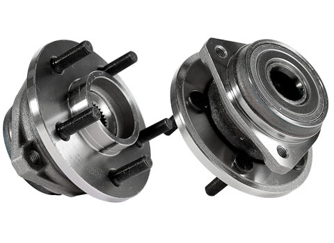 2 new front jeep wrangler cherokee wheel hub and bearing. Black Bedroom Furniture Sets. Home Design Ideas