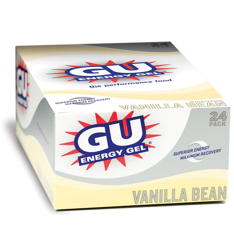 GU Vanilla Gel 24 Pack