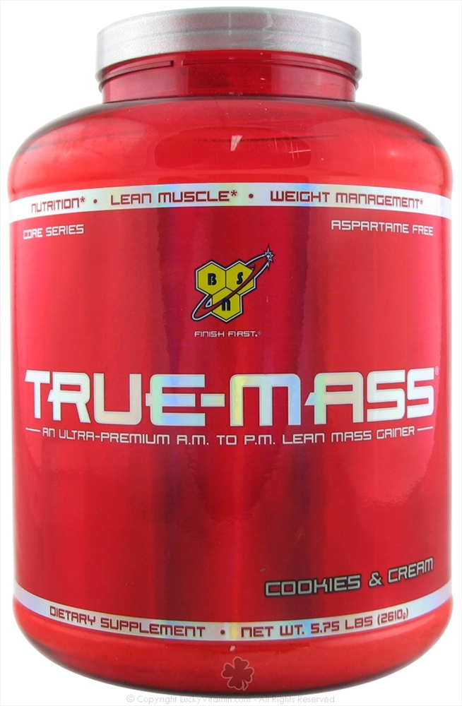 BSN Inc. True-Mass Ultra-Premium Lean Mass Gainer Cookies & Cream