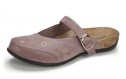 Orthaheel Women's Melissa Slip-On Mule Dusk Rose Size 7 Online Discount