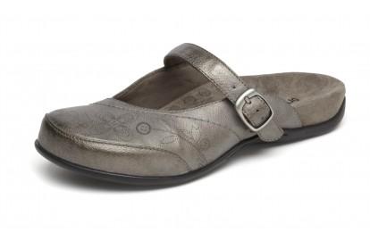 Orthaheel Women's Melissa Slip-On Mule Pewter Size 10 Online Discount
