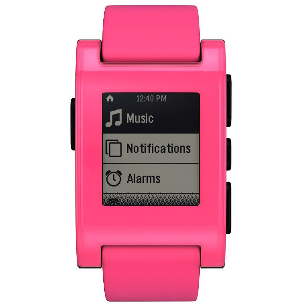 Pebble Pink Pebble Smartwatch