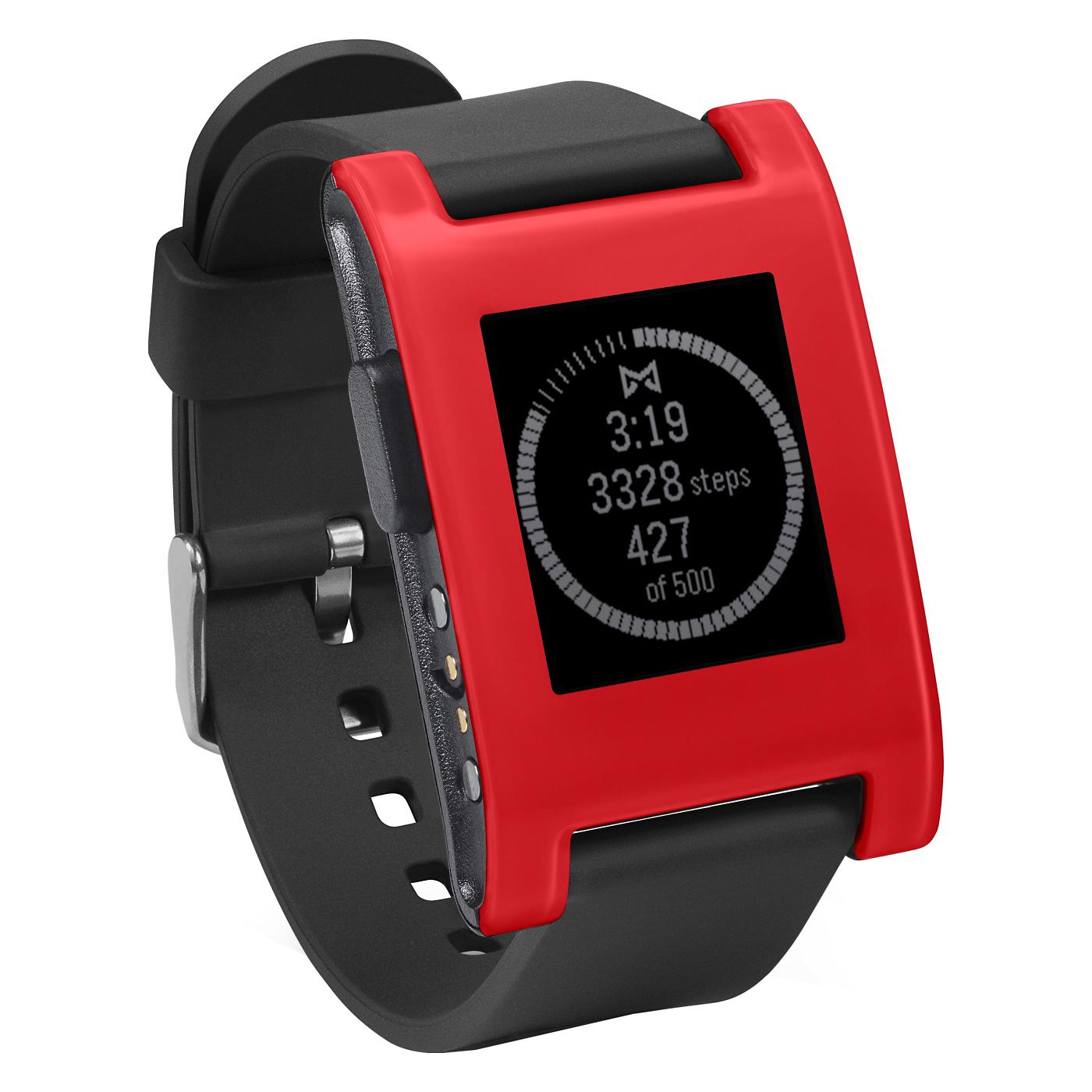 Pebble Red Pebble Smartwatch