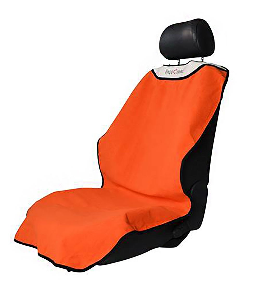 happeseat portable moisture wicking athletic car seat cover orange ebay. Black Bedroom Furniture Sets. Home Design Ideas