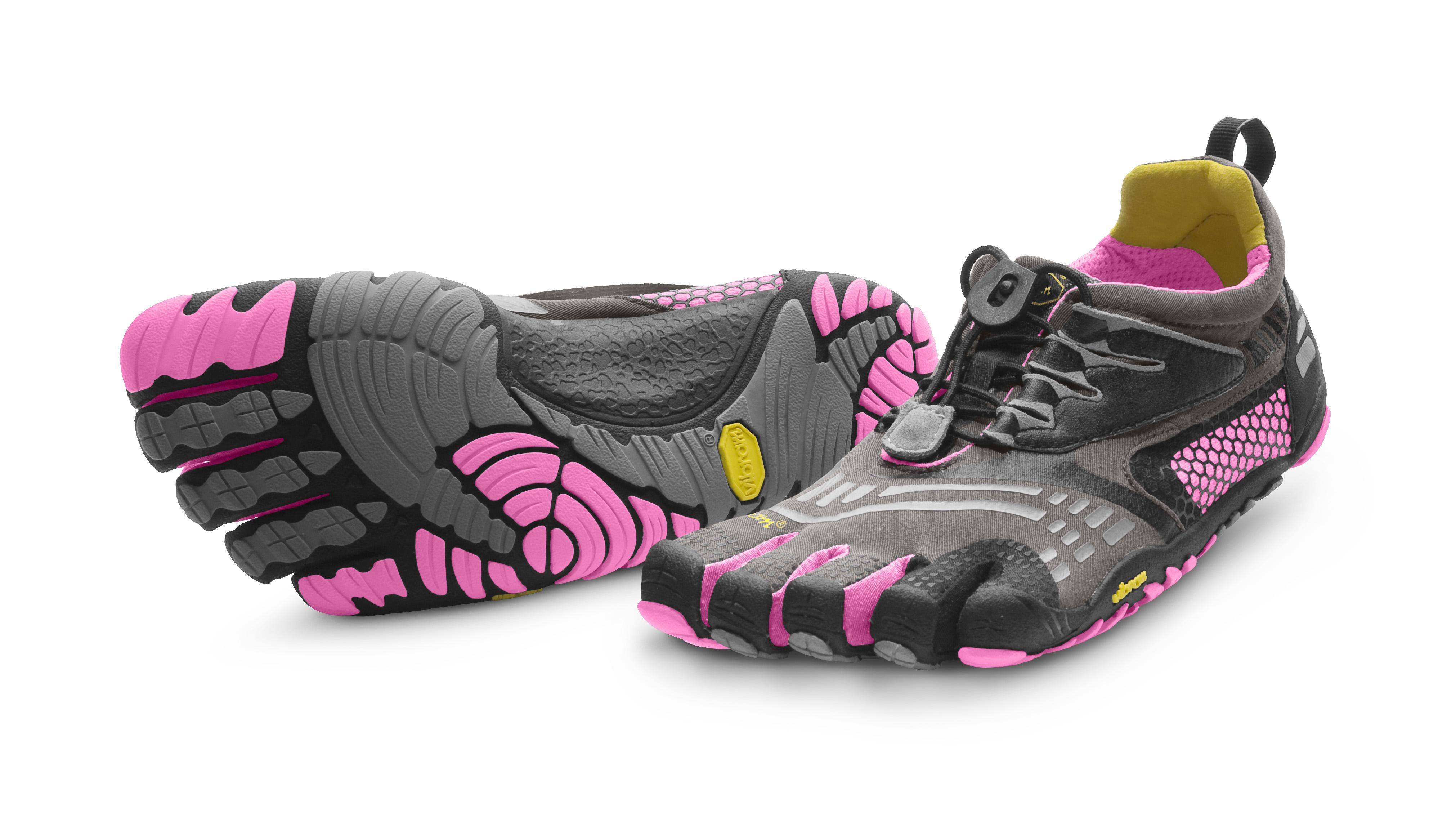 Vibram FiveFinger Women's KomodoSport LS Grey-Black-Pink