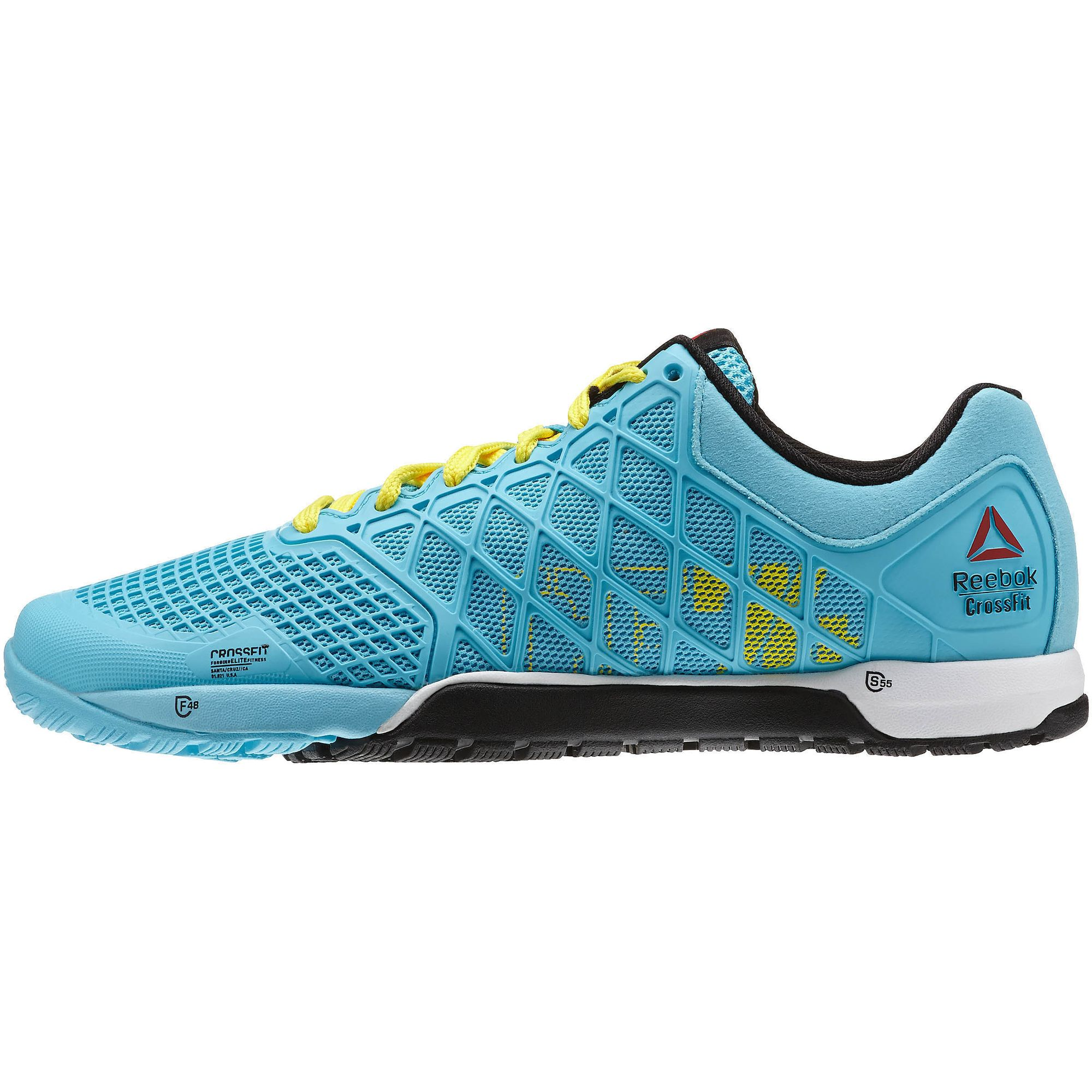 reebok athletic shoes s crossfit nano 4 0 neon blue
