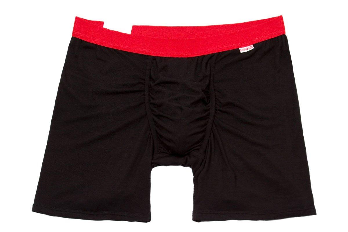 MyPakage Weekday Boxer Brief Black-Red Size Medium