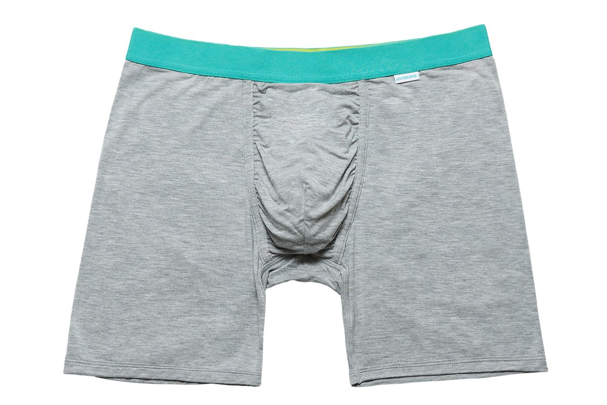MyPakage Weekday Boxer Brief Heather-Seafoam-Yellow Size
