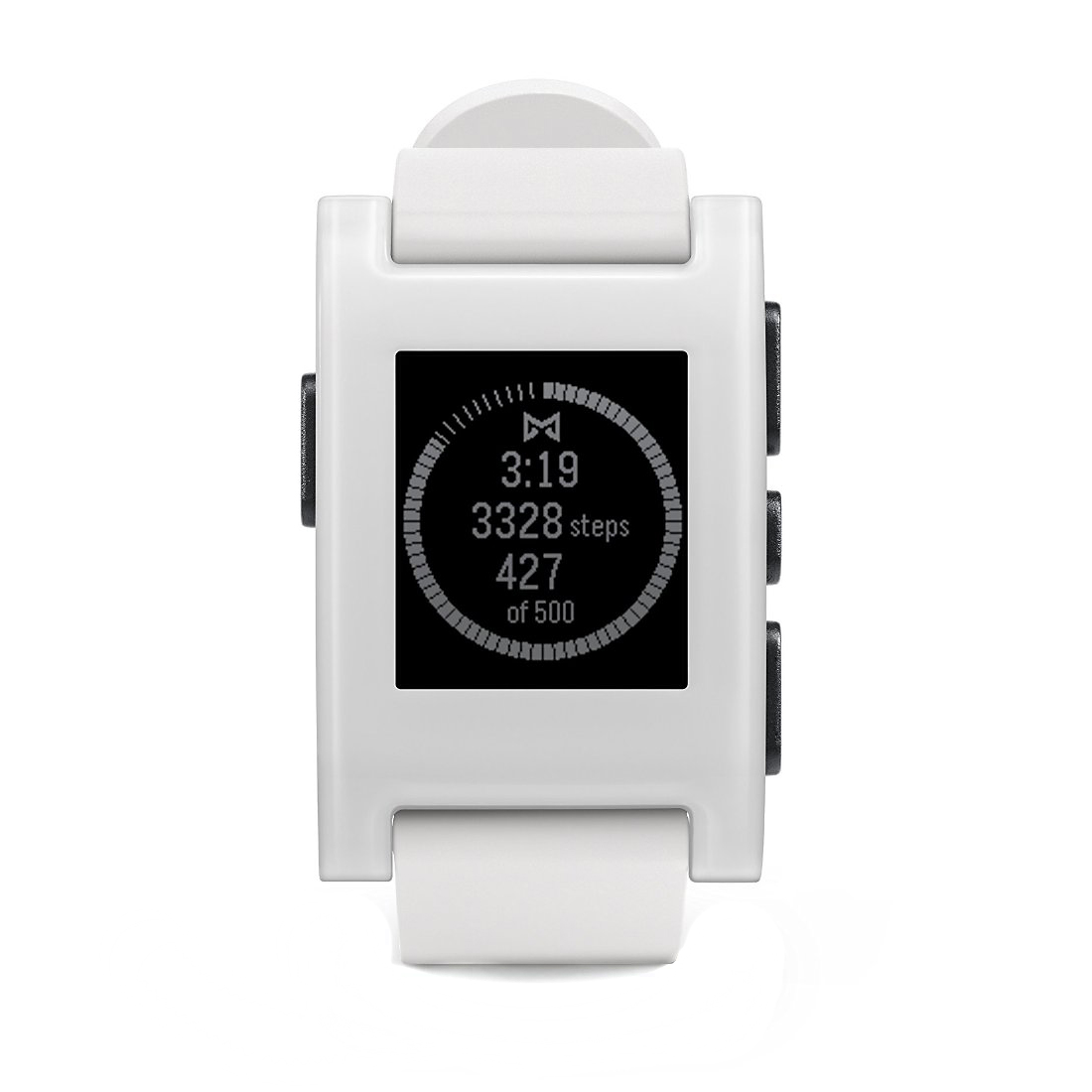 Pebble White Pebble Smartwatch