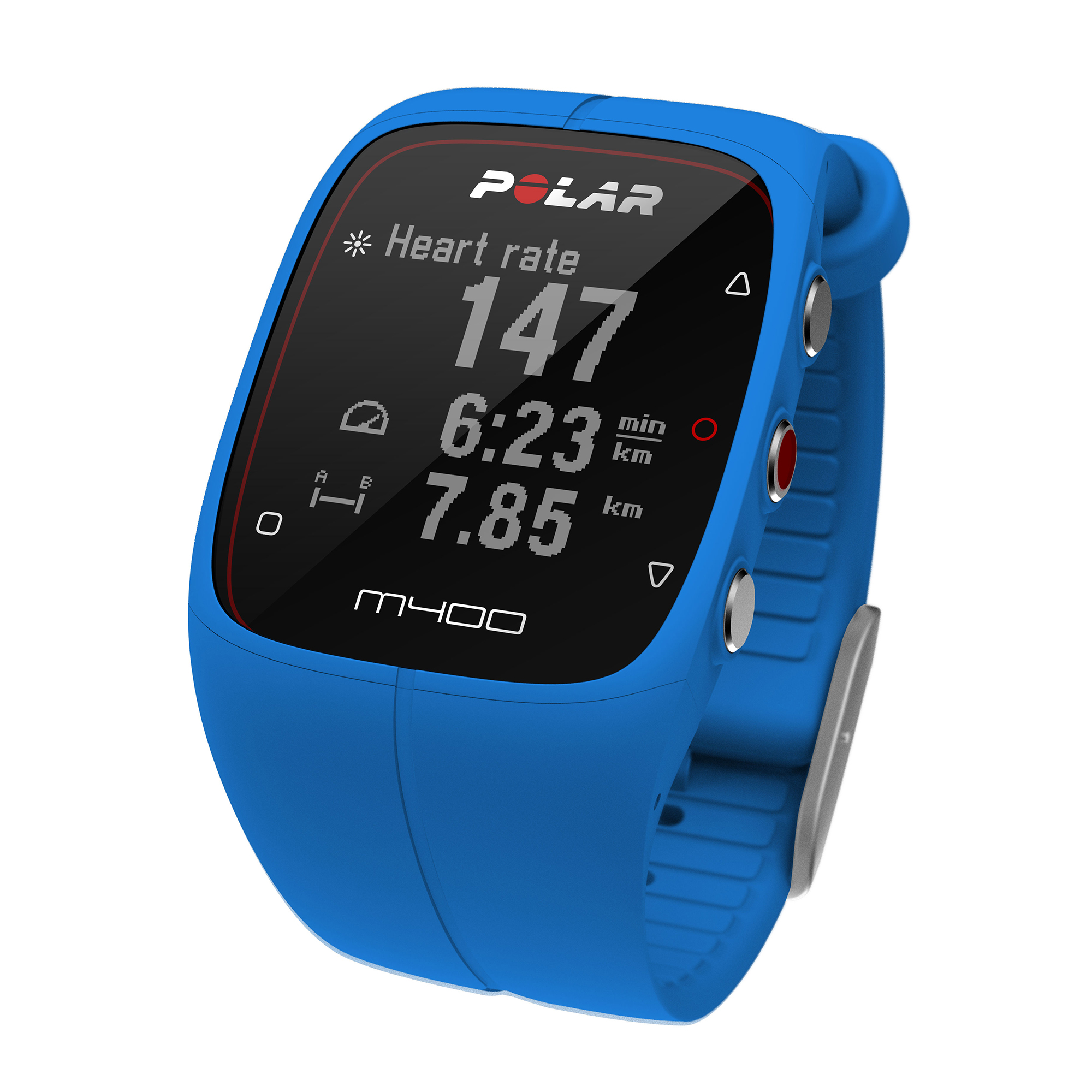 polar m400 gps sports blue ebay