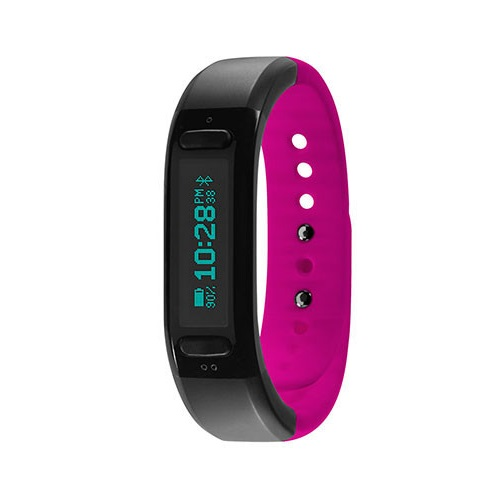 Soleus Go Fitness Band Black-Pink