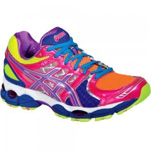 Asics Women's Gel-Nimbus 14 Lite Bright-Grape-Pink