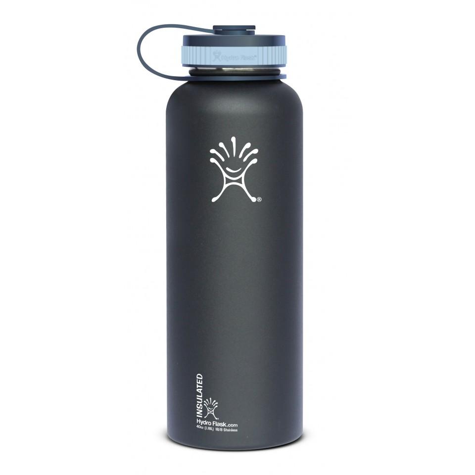 hydro flask 40oz wide color black butte ebay
