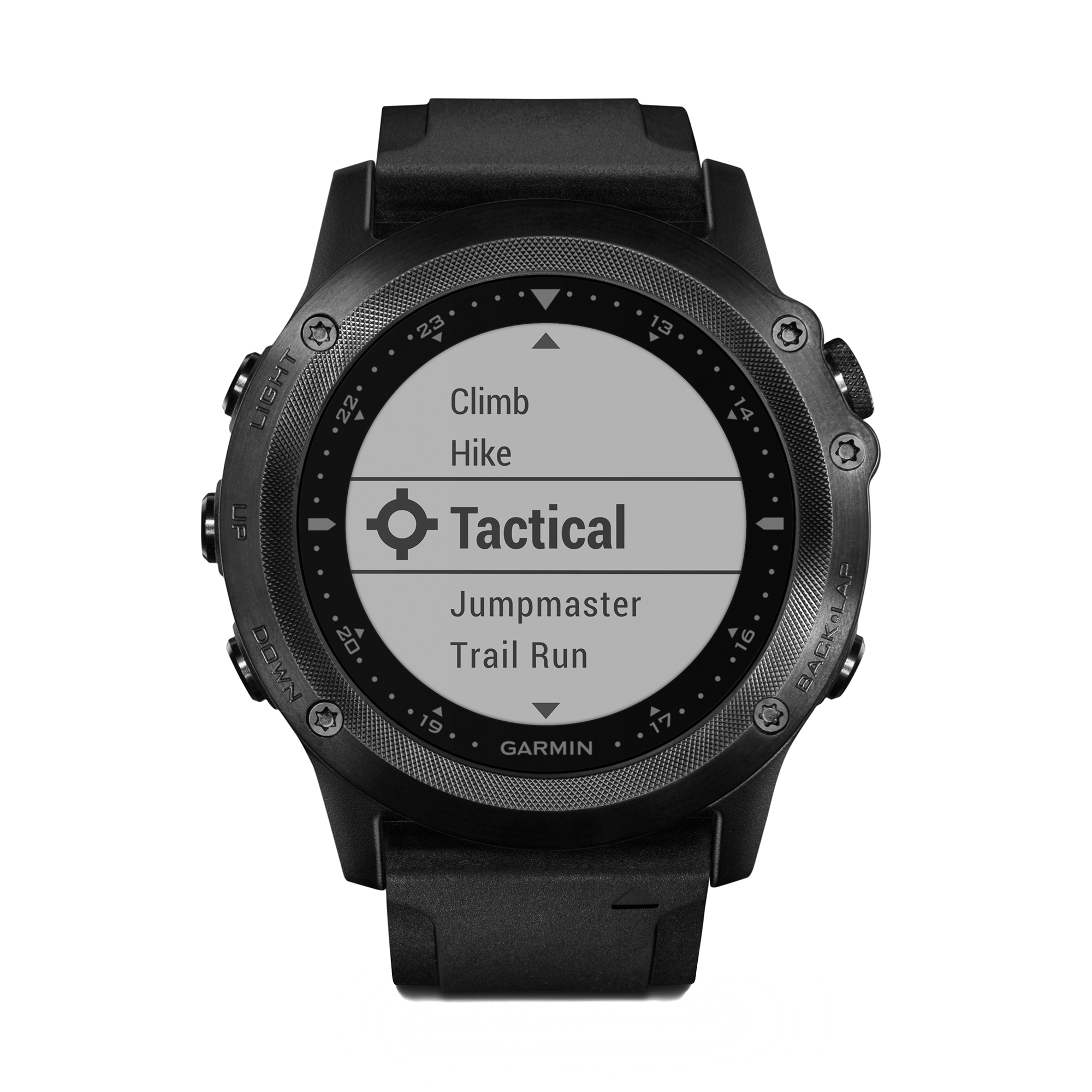 Garmin tactix Bravo GPS Multisport Watch Sapphire Silicone Strap