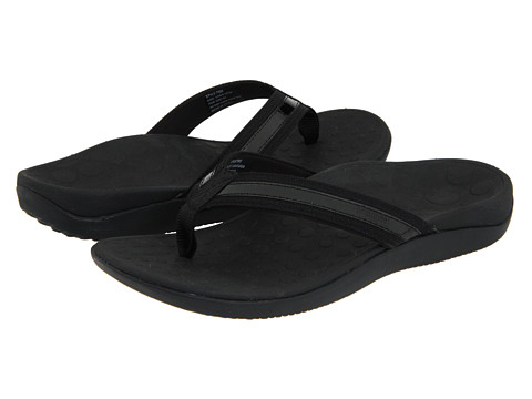 Orthaheel Tide Women's Orthotic Flip Flop Sandals Black Size 11 Online Discount