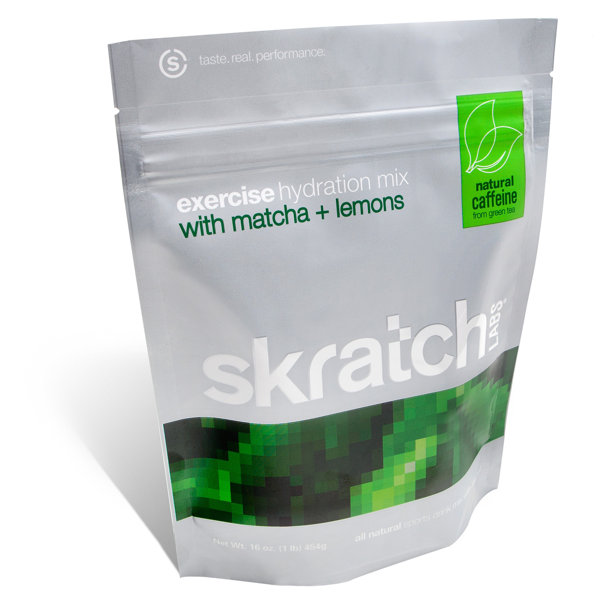 Skratch Labs Exercise Hydration Mix Matcha and Lemons 16oz