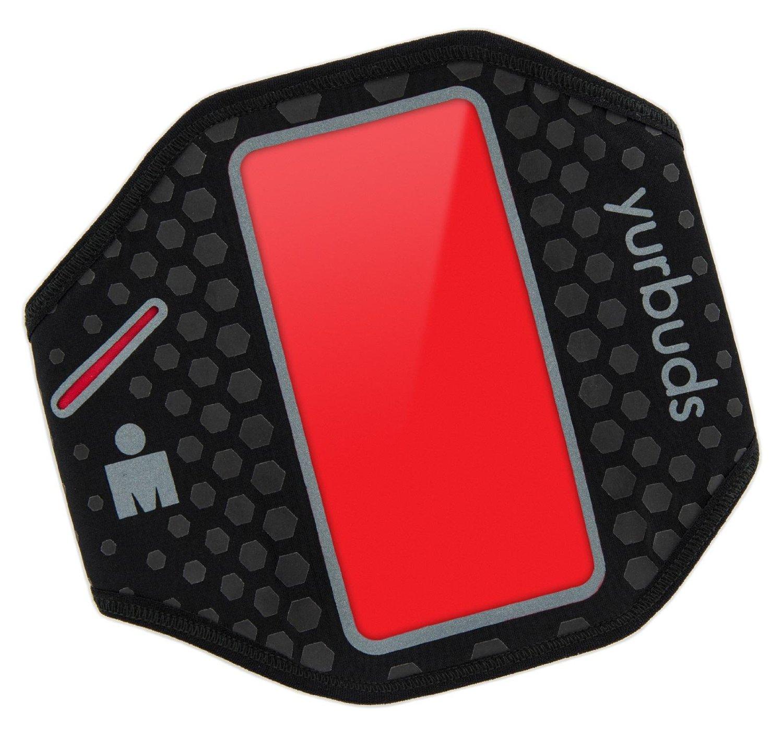 Yurbuds Universal Ergosport Armband Black-Red