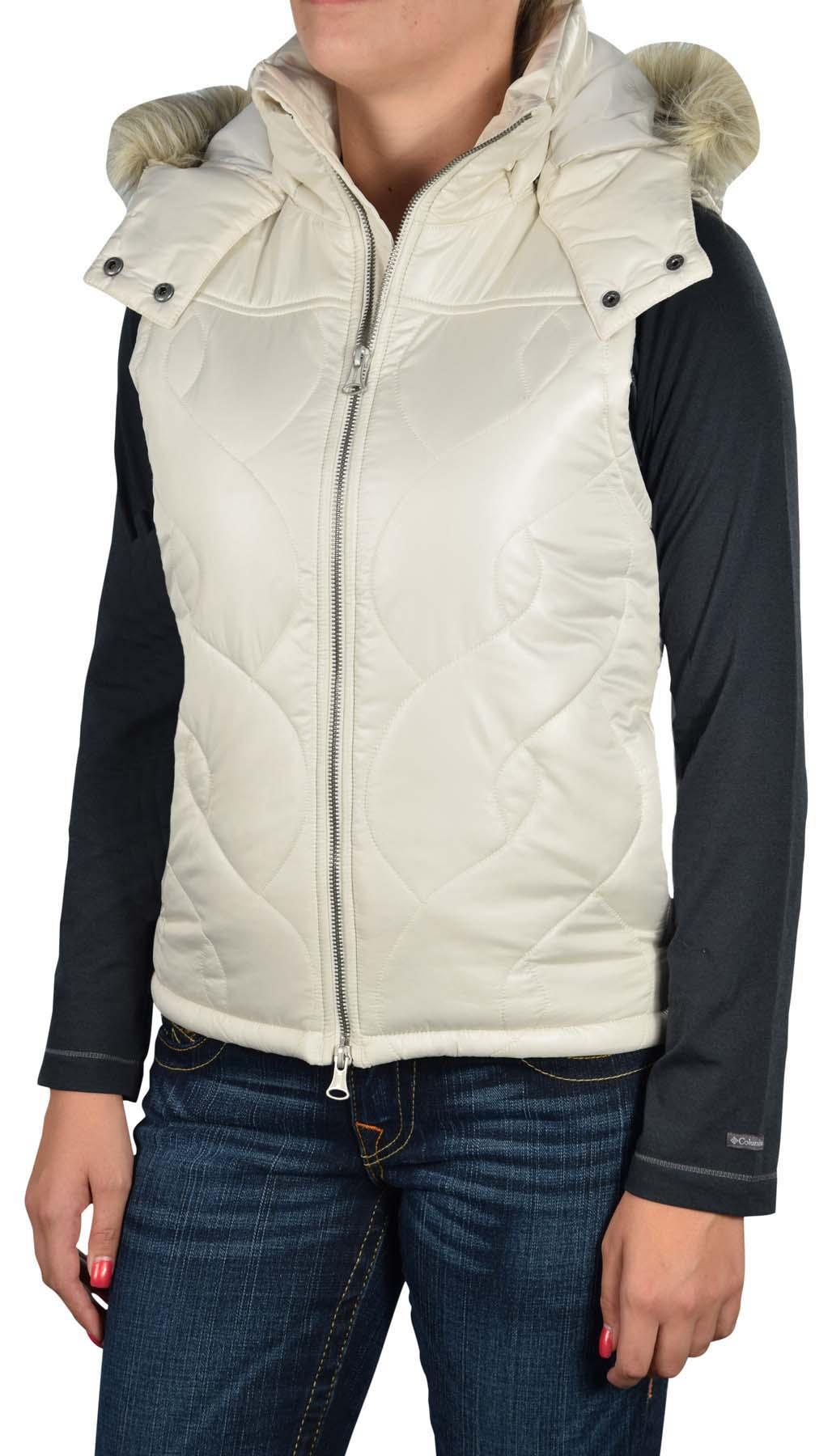 Vans Women S Fort Greene Hooded Puffer Vest