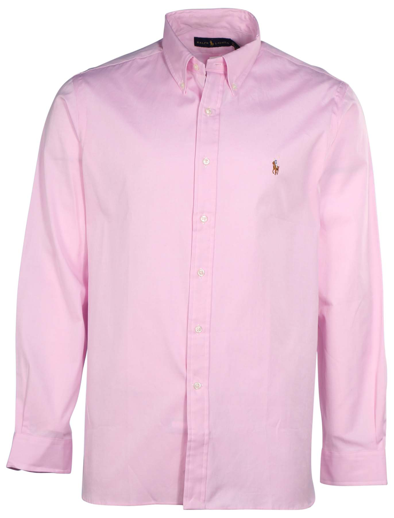 Polo ralph lauren men 39 s button down long sleeve shirt for Men s lightweight long sleeve polo shirts