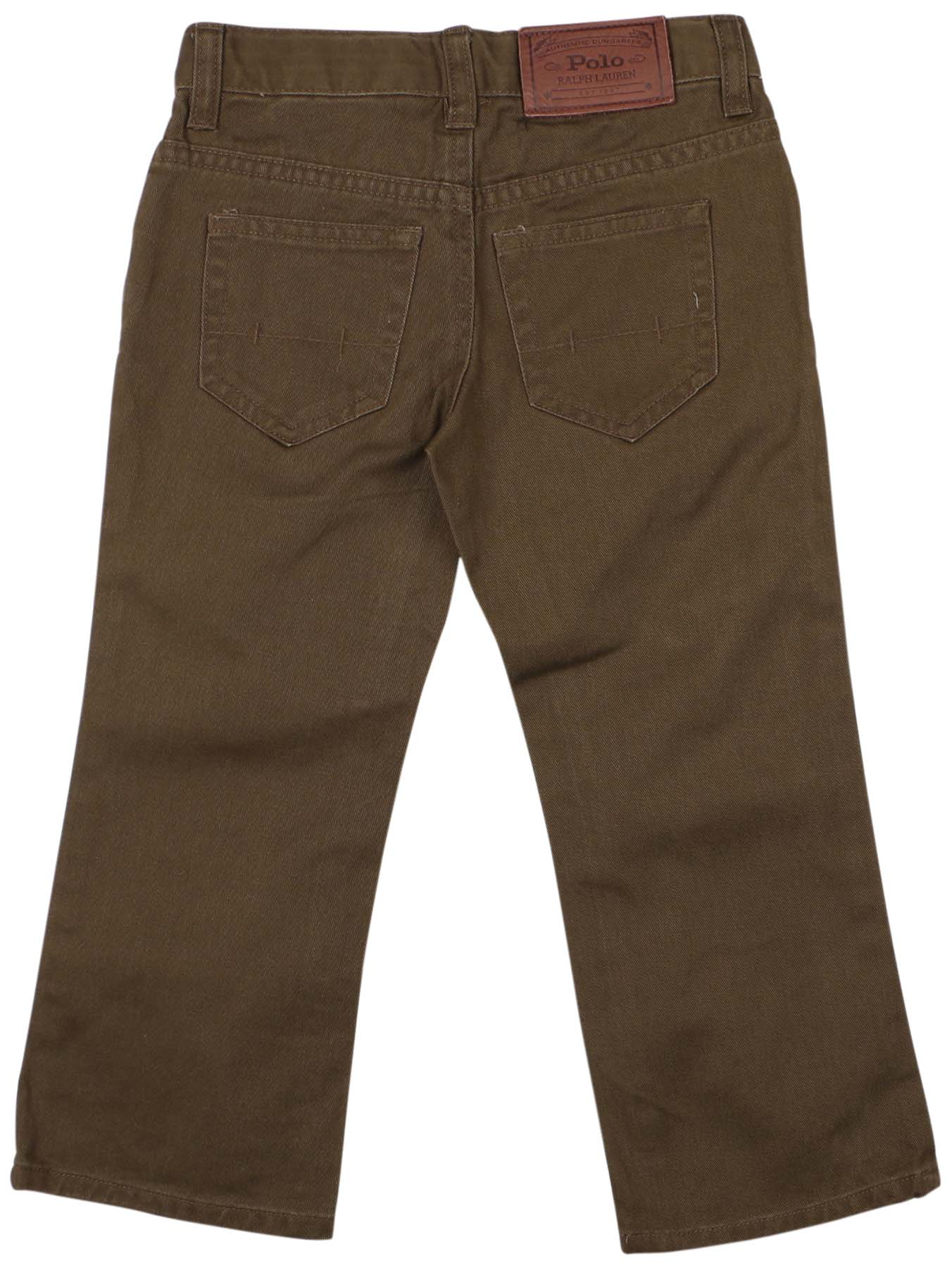 Polo ralph lauren toddler boys 39 2t 4t 5 pocket pants ebay for Ralph lauren kids