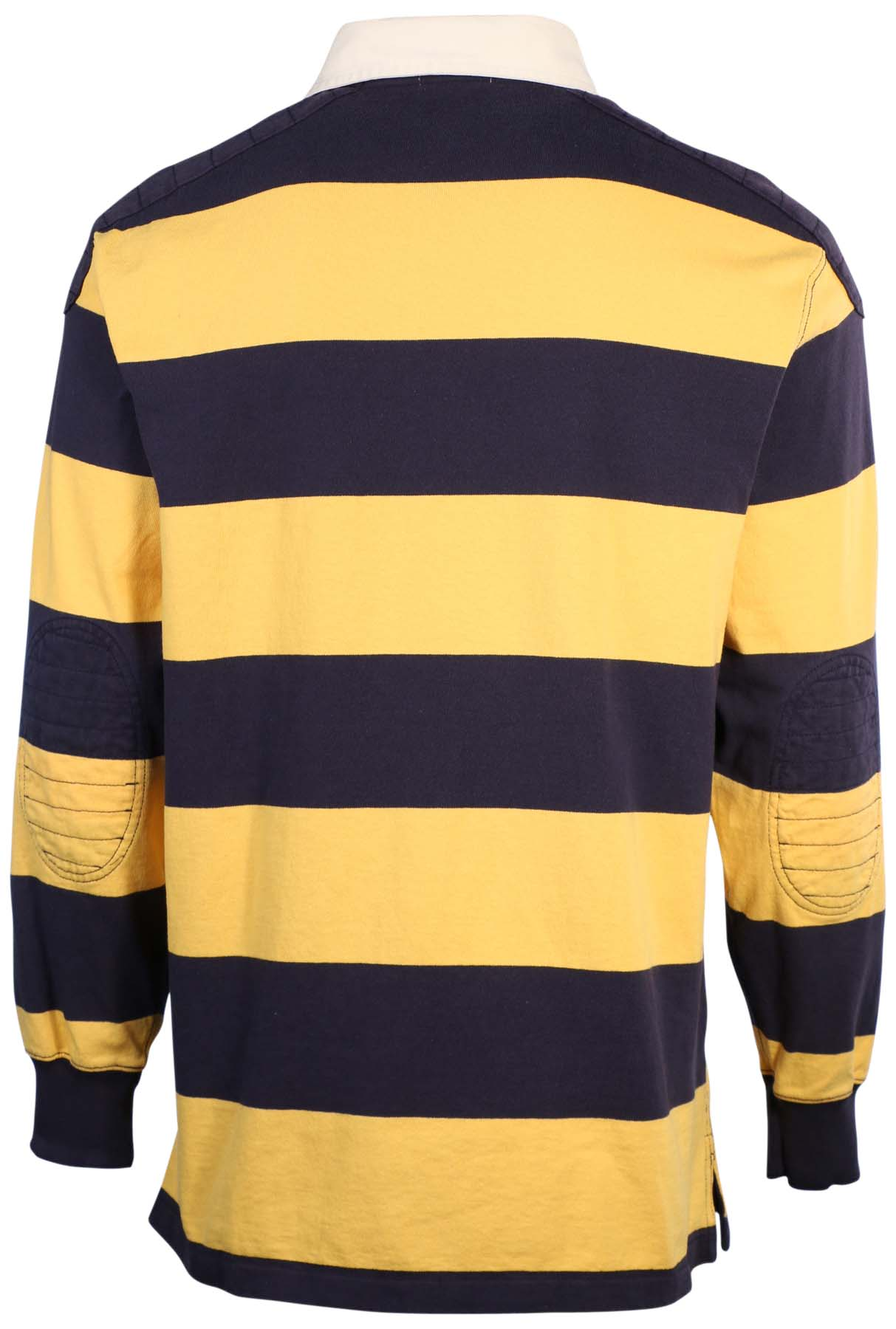 Polo ralph lauren men 39 s big tall striped rugby shirt ebay for Big and tall polo rugby shirts