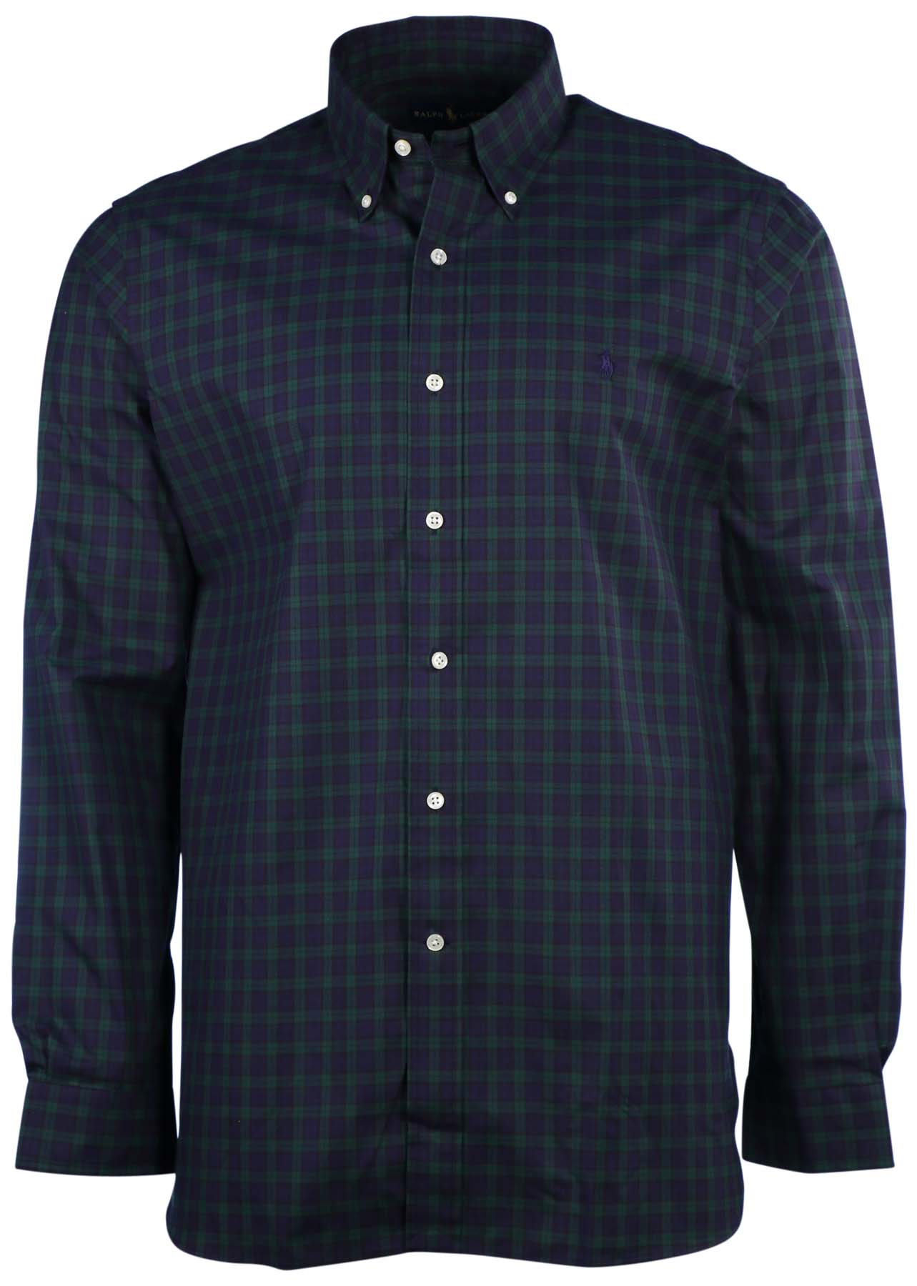 polo ralph lauren men 39 s plaid tartan button down shirt ebay