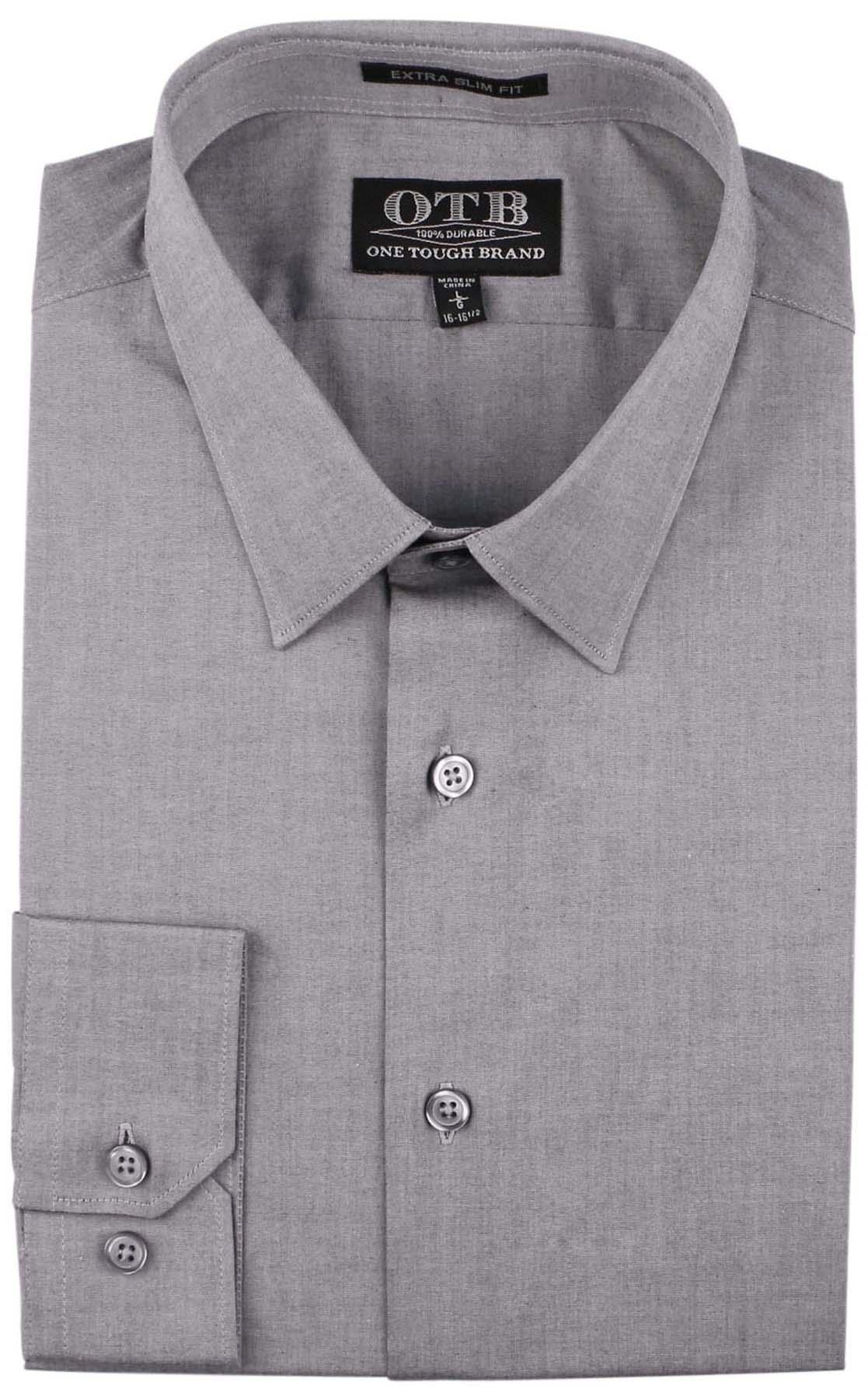 One Tough Brand Men 39 S Extra Slim Fit Button Down Dress