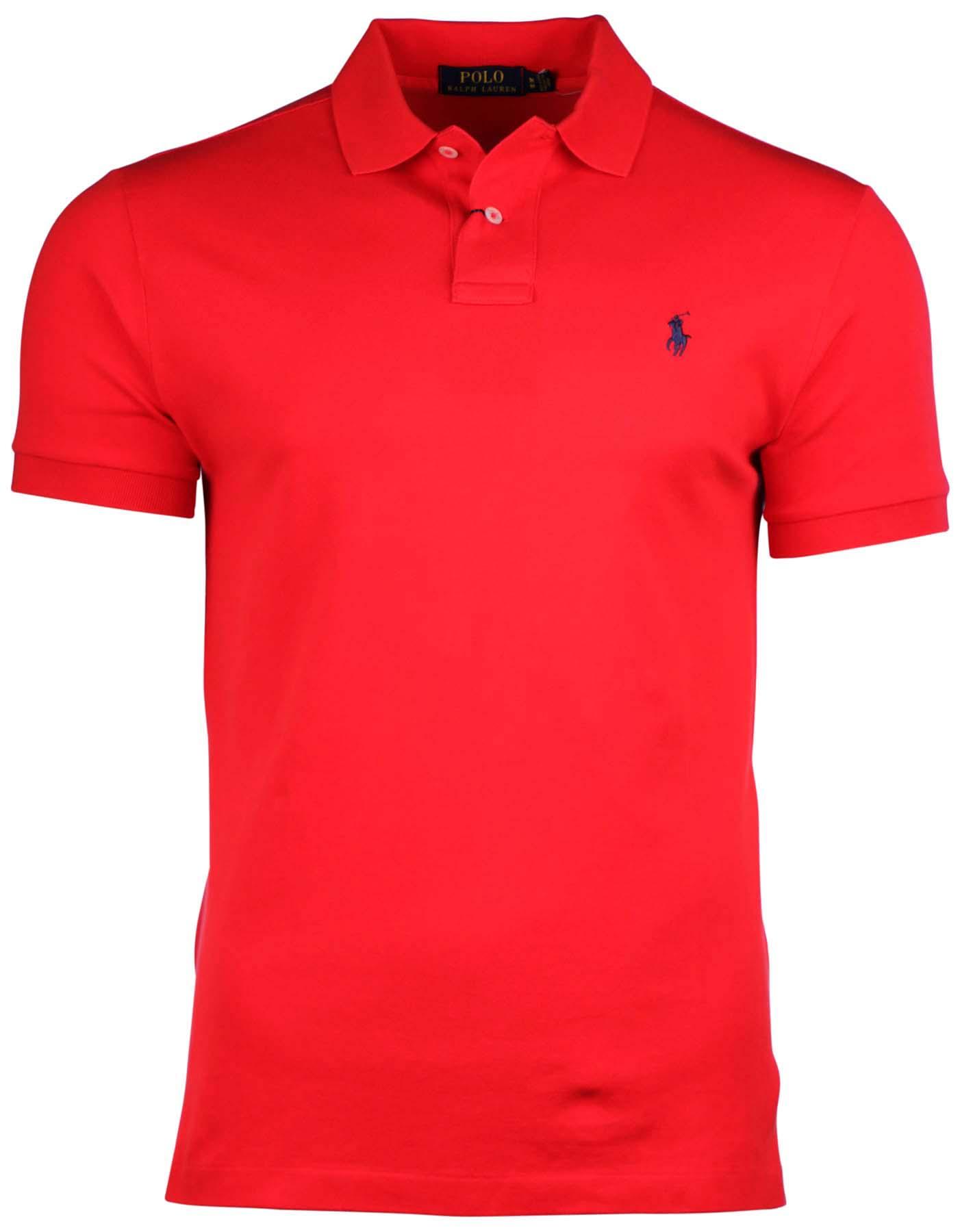 Polo Ralph Lauren Men 39 S Classic Fit Mesh Pony Shirt Ebay