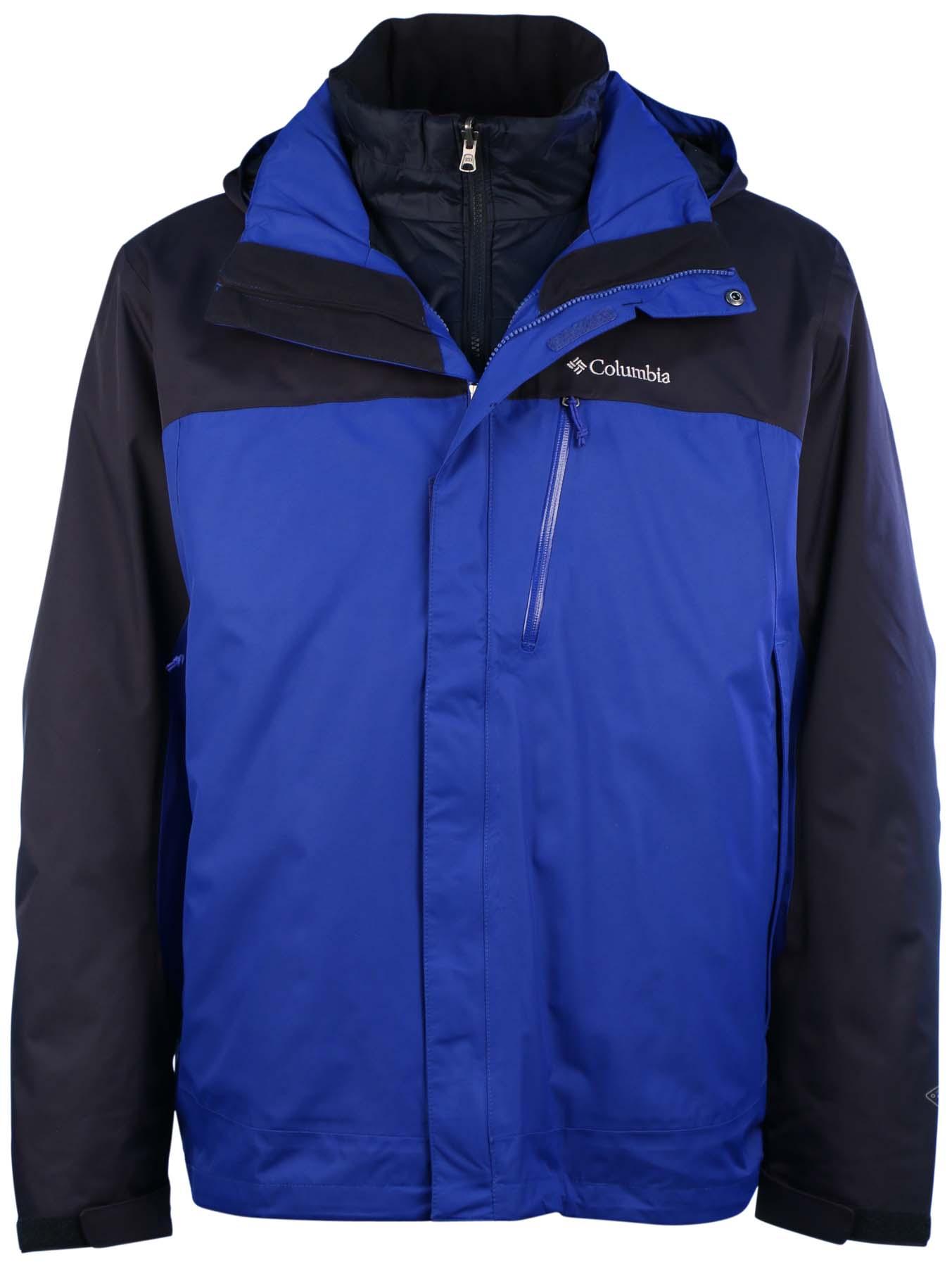Columbia Men's Rural Mountain 3 in 1 Interchange Omni Heat Jacket ...