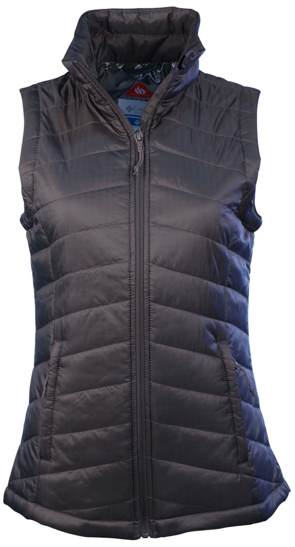 Columbia Women S Morning Light Ii Omni Heat Vest Ebay
