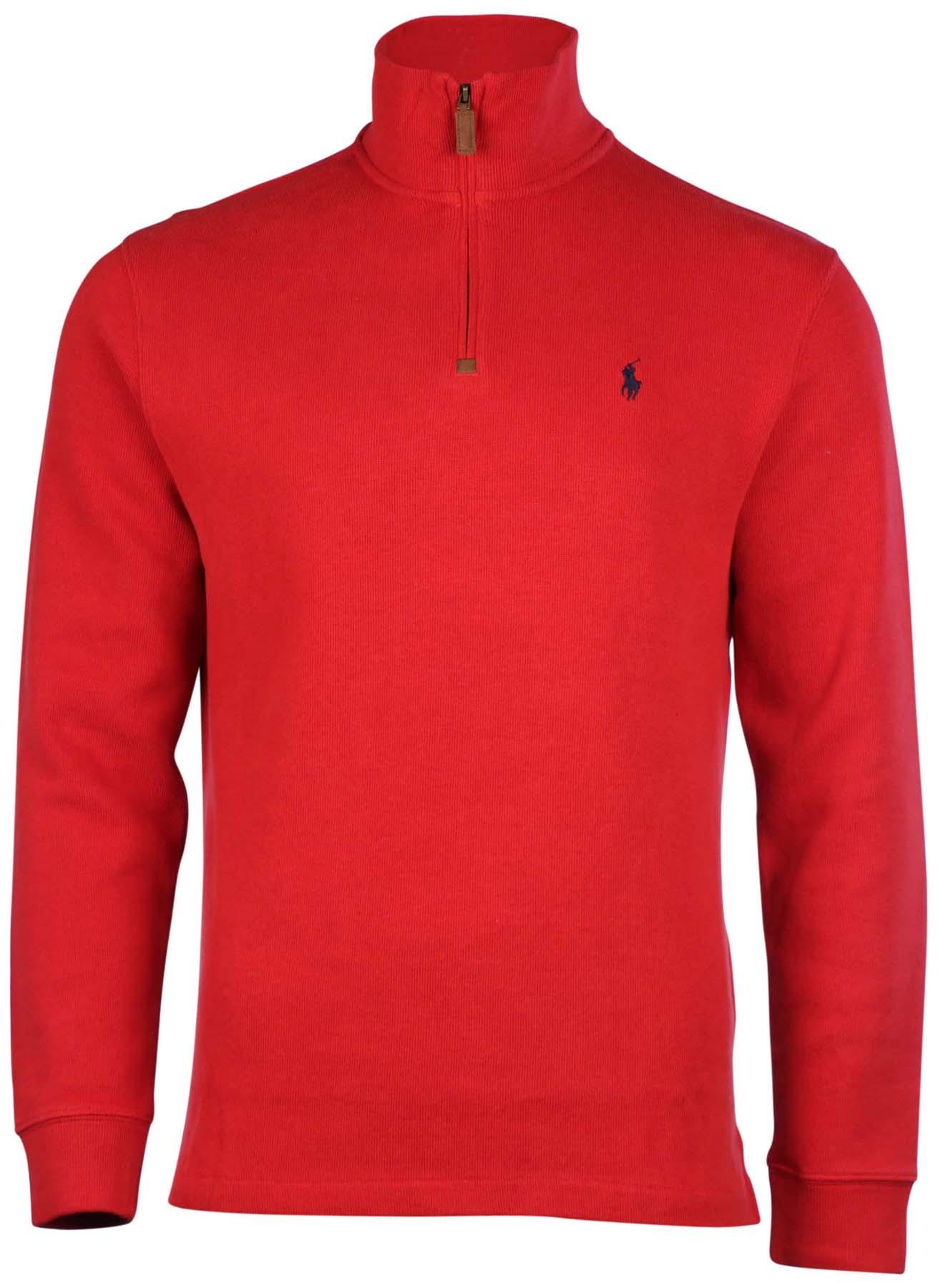 polo ralph lauren men 39 s half zip pullover sweater ebay. Black Bedroom Furniture Sets. Home Design Ideas