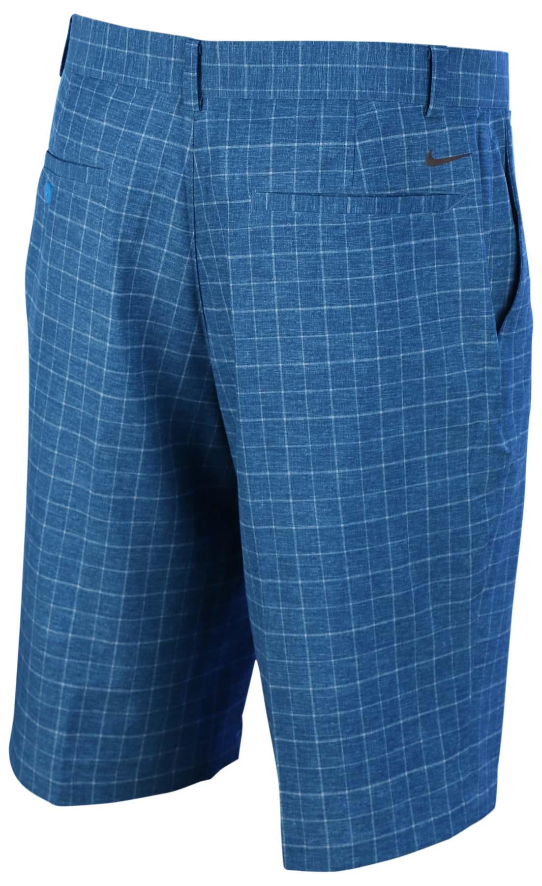 nike men 39 s dri fit plaid standard fit golf shorts ebay. Black Bedroom Furniture Sets. Home Design Ideas