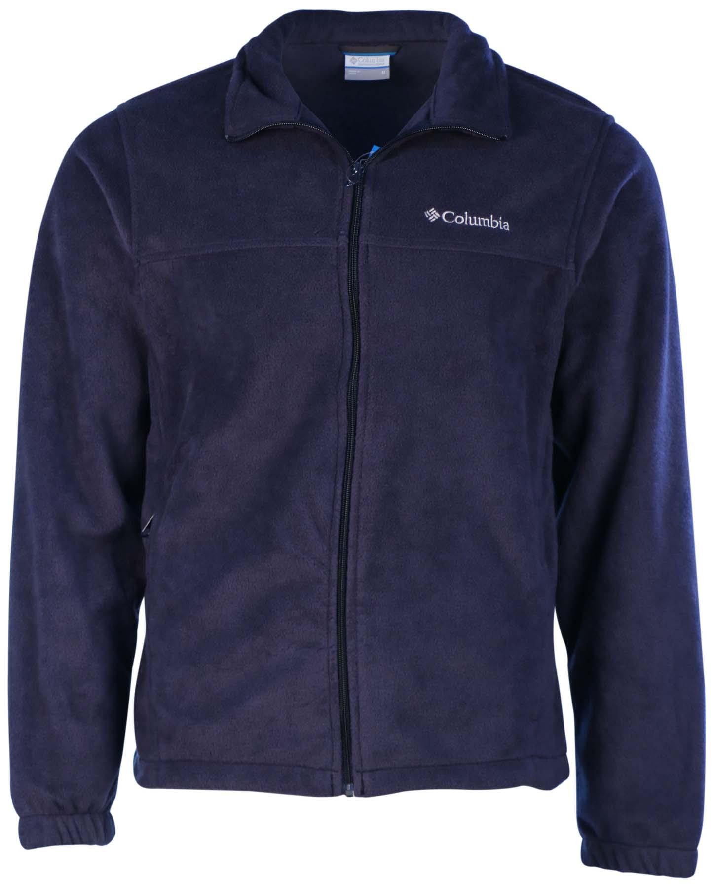 Columbia Men's Granite Mountain Fleece Jacket M Navy Blue | eBay
