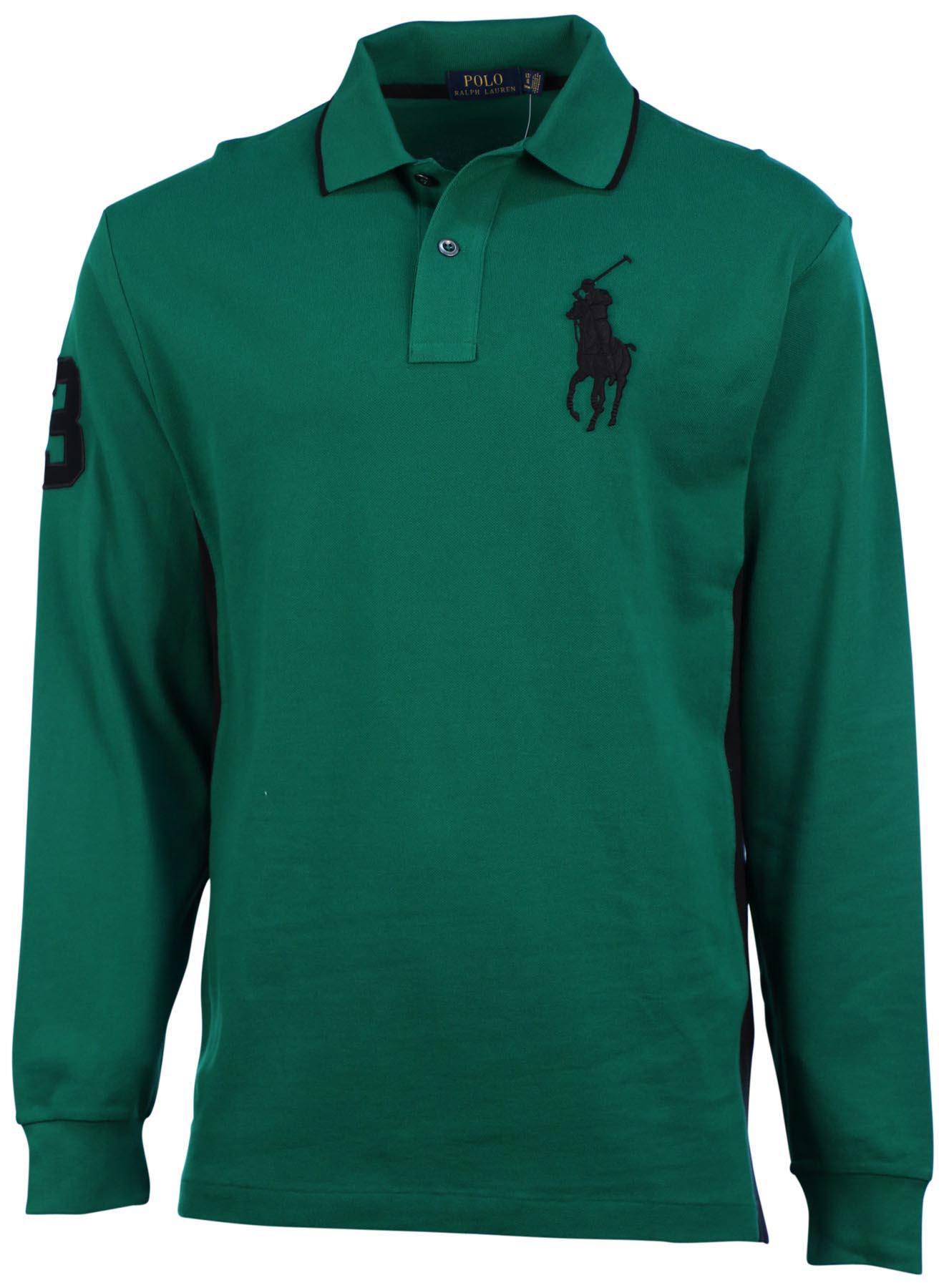 Polo ralph lauren men 39 s big tall l s big pony knit shirt for Men s big tall shirts