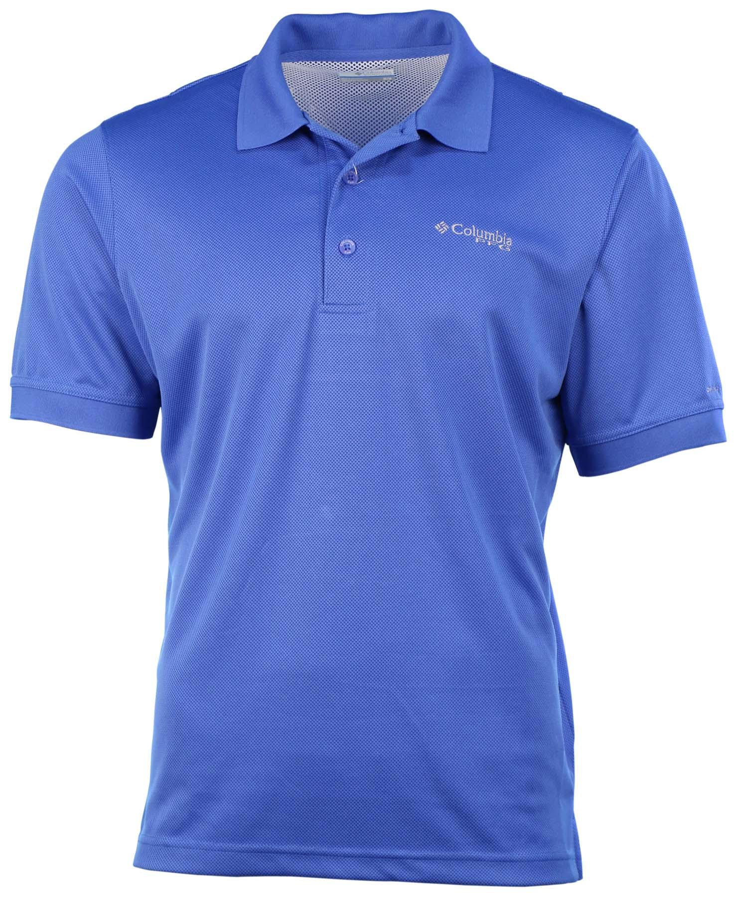 Columbia Men's Shields River Omni-Wick PFG Polo Shirt | eBay