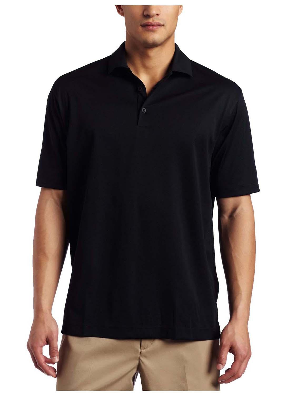 Nike men 39 s dri fit stretch uv tech golf polo shirt ebay for Stretch polo shirt mens