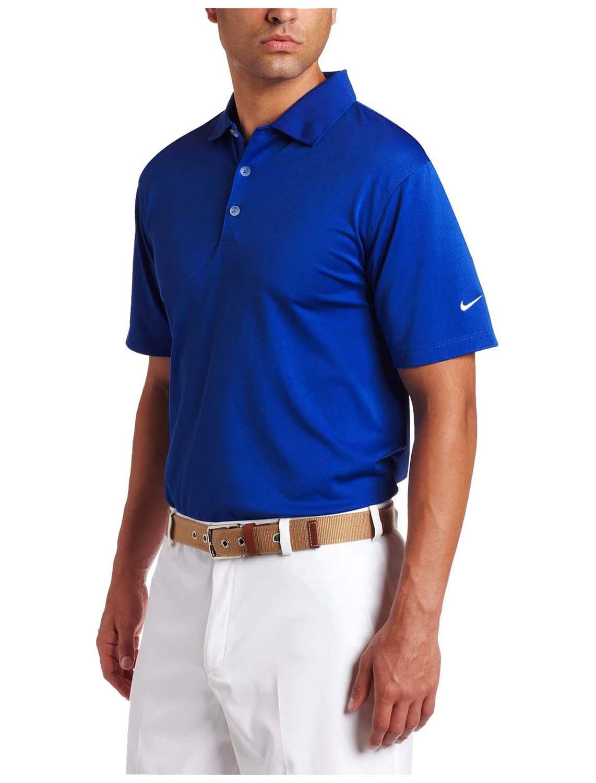 Nike men 39 s dri fit stretch uv tech golf polo shirt ebay for Dri fit polo shirts for boys