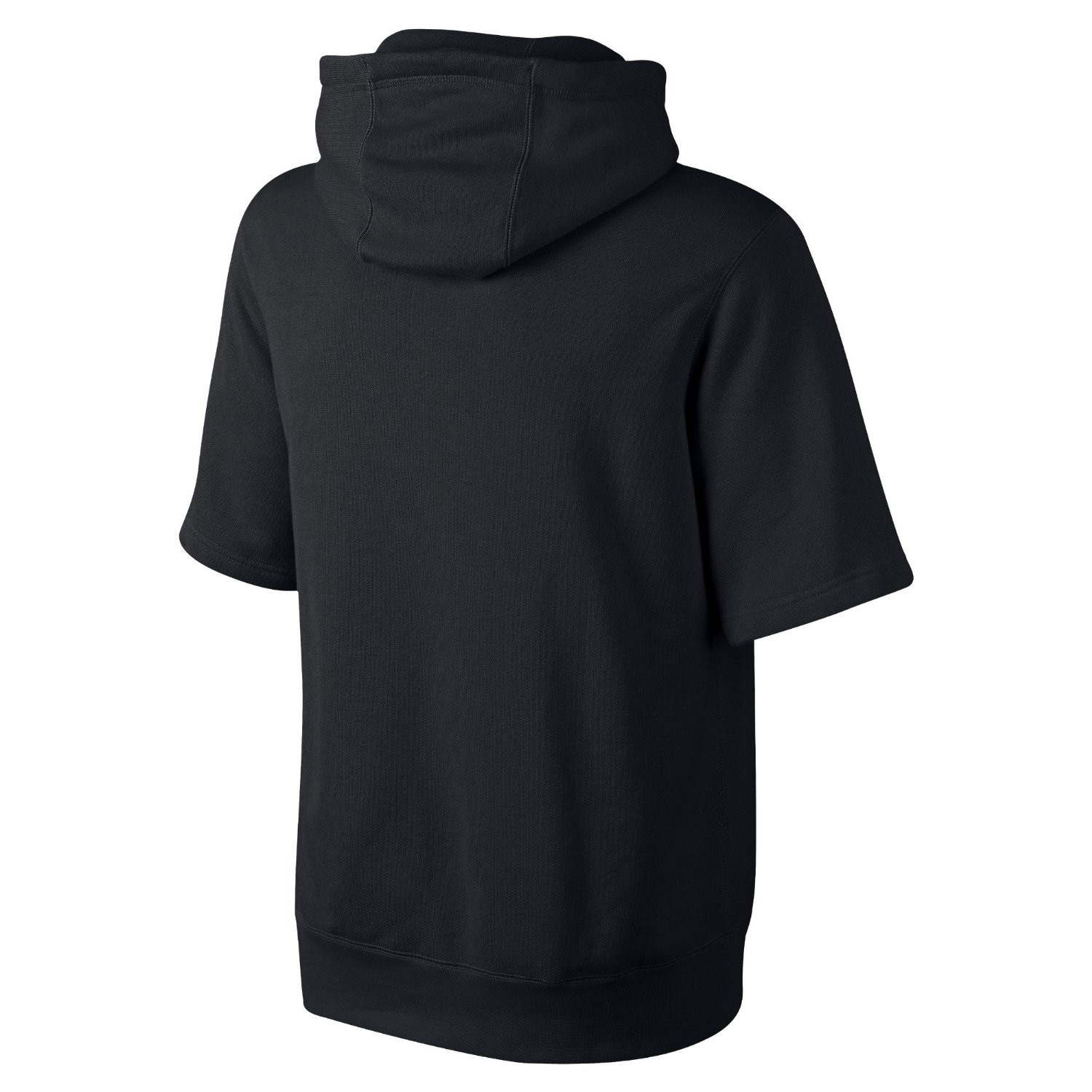 Nike Men's Air Pivot Short Sleeve Pullover Basketball Hoodie-Black ...