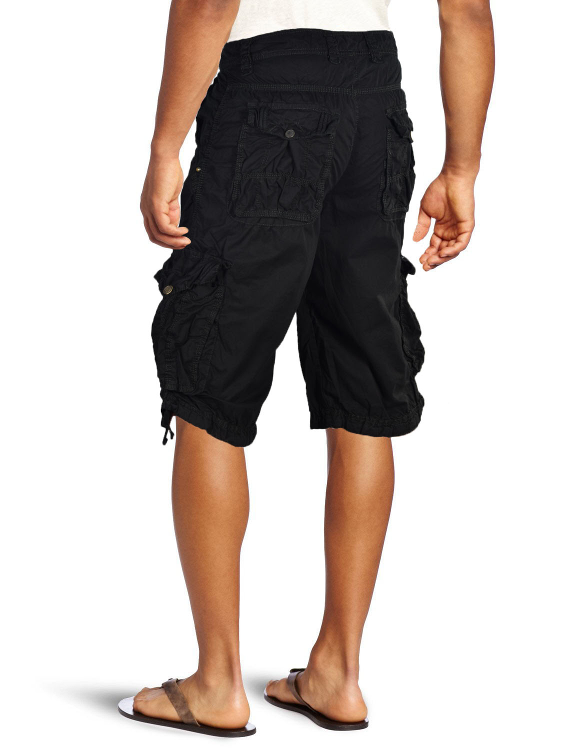 Wrangler Men's Black Cargo Shorts Cotton Relaxed Fit New 34 36 38 40 42 44 46 48 See more like this. Mens STEINTEX CARGO SHORTS CHARCOAL WASH MMA 32 34 36 38 40 42 BLACK LABEL. Mens Cargo Shorts with Belt 30 52 Twill Short Camo Pants Summer Multi Pocket IH. Brand New. $ Buy It Now. Free Shipping. 2,+ Sold.