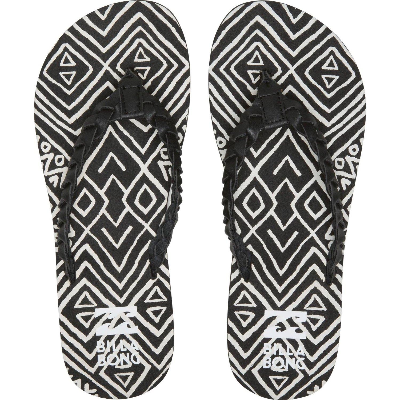 Black sandals juniors - Billabong Juniors Salty Sands Flip Flops Thongs Sandals