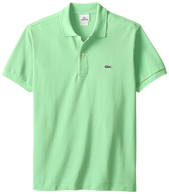 Lacoste men 39 s 2 button croc pique mesh polo shirt ebay - Lacoste poloshirt weiay ...