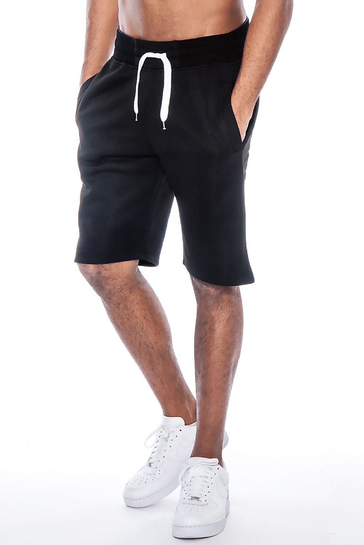 True Rock Men's William Fleece Casual Shorts | eBay
