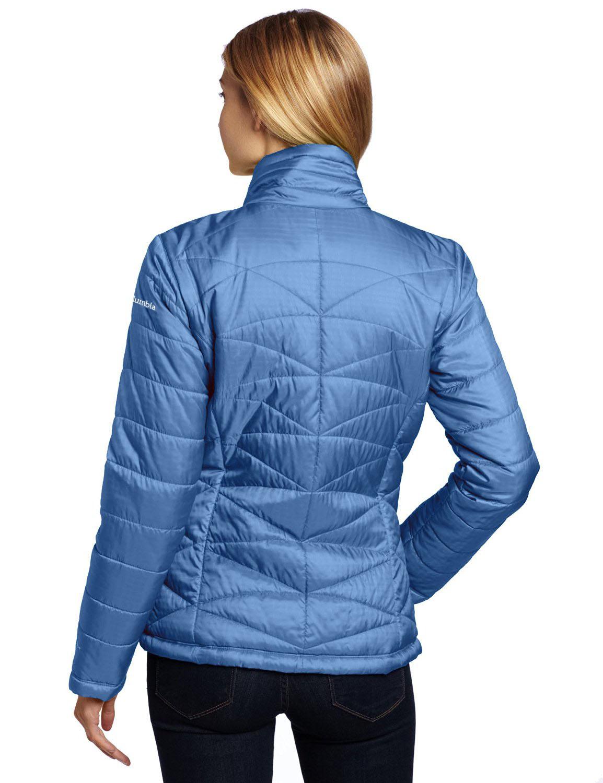 Columbia Women S Morning Light Insulated Omni Heat Jacket