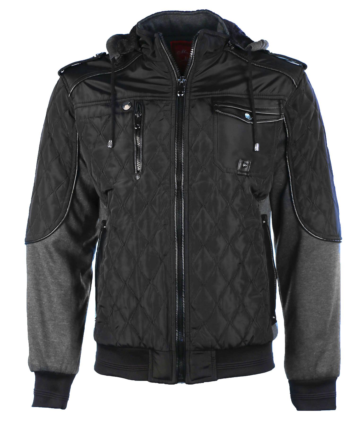 Maximos Men's Envy Hooded Full Zip Bomber Jacket | eBay