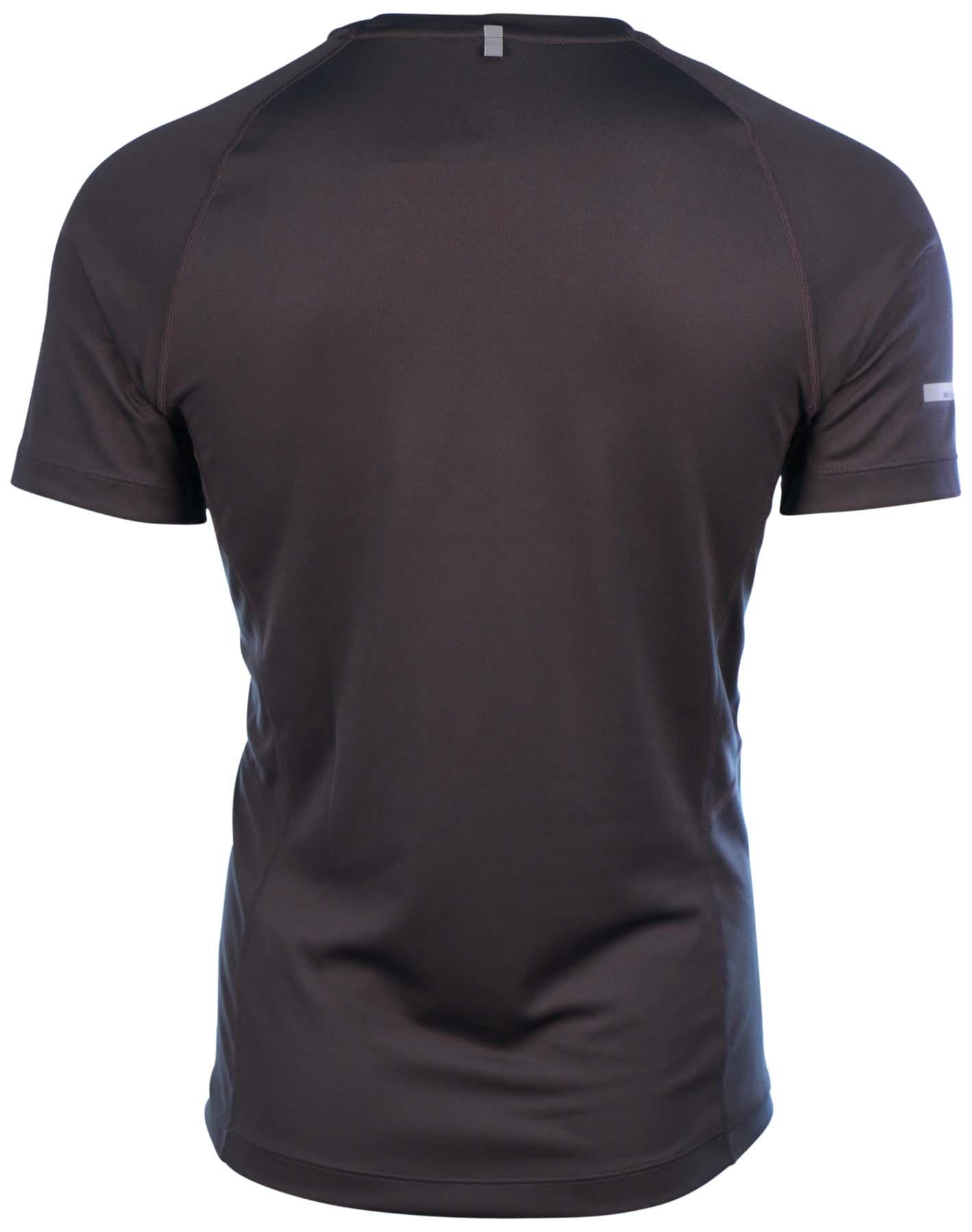 Nike Men 39 S Dri Fit Miler Uv Short Sleeve Running Shirt Ebay