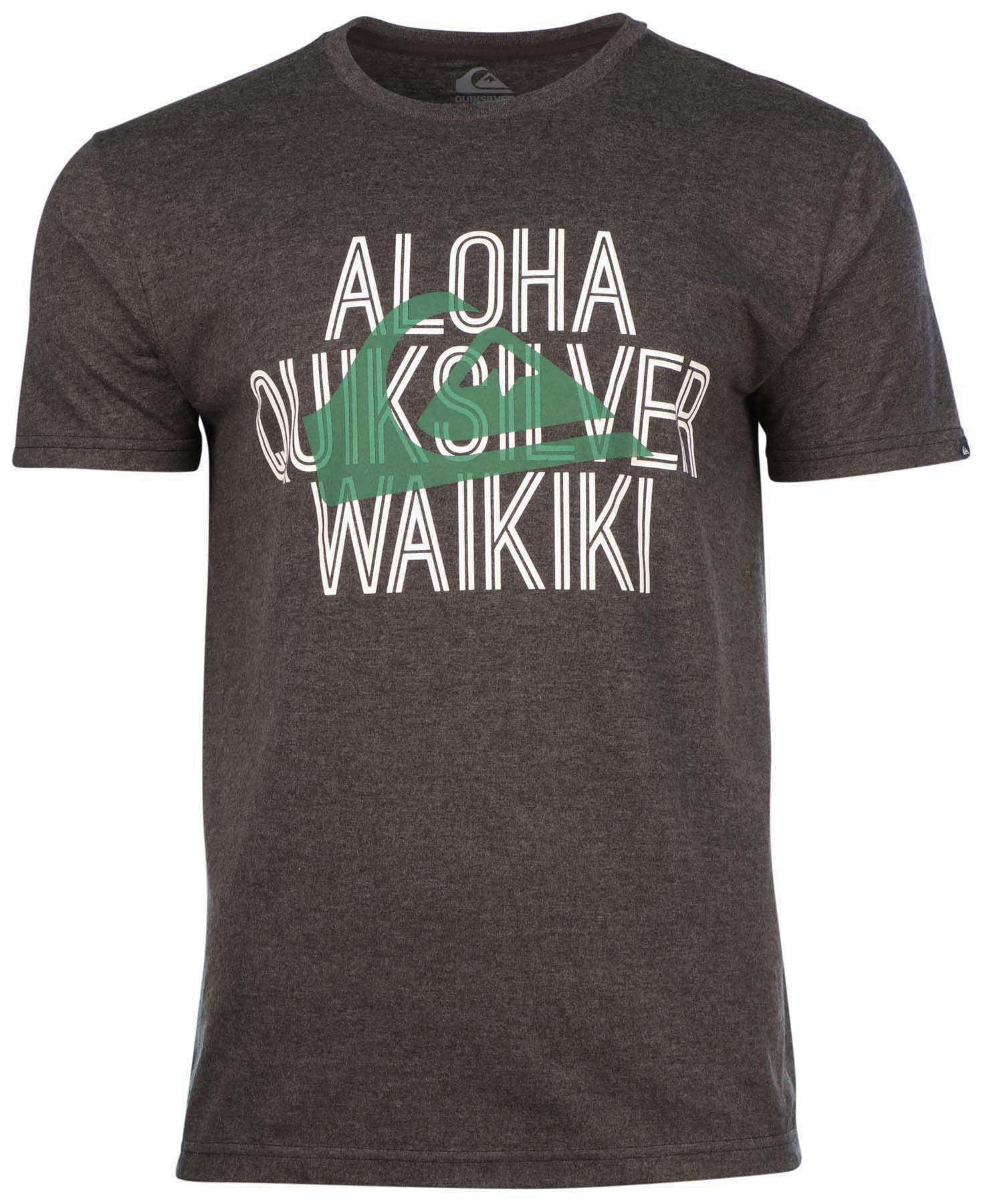 Quiksilver men 39 s aloha hawaiian graphic t shirt ebay for Hawaiian graphic t shirts