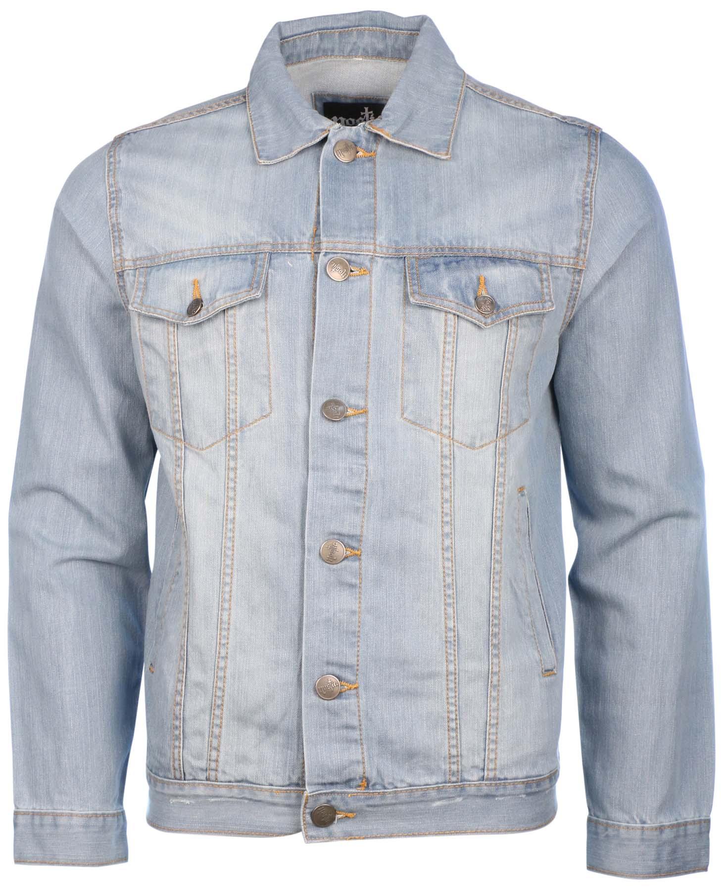 Nostic Menu0026#39;s Button Front Denim Jean Jacket | eBay