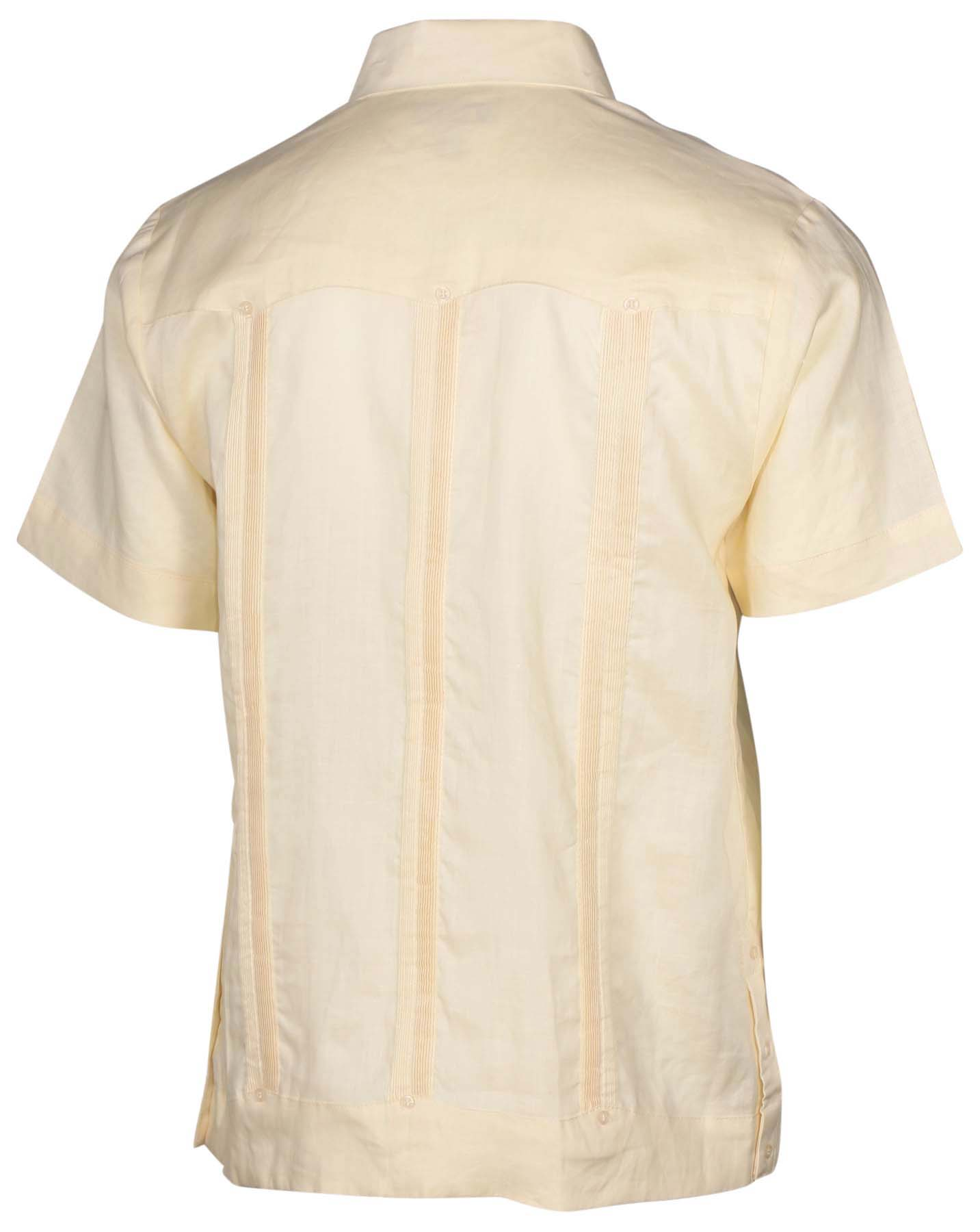 Mojito Collection Men 39 S Big Tall Linen Guayabera Shirt